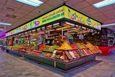 Frutas Charito en el Mercado de Chamartín