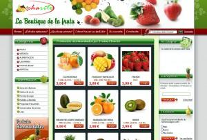 Nueva web de Frutas Charito