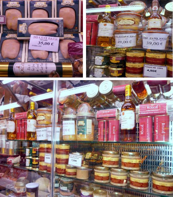 Conservas de foie, vinos y todo tipo de complementos para su degustación