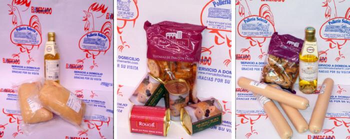 Todo el foie que usted pueda desear, una delicatessen en Pollería Selecta Hermanos Gómez