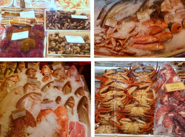 Enorme variedad en los mejores pescados y mariscos del mercado en Pescadería Ernesto Prieto