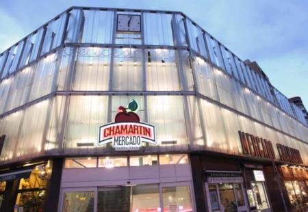Fachada del Mercado de Chamartín