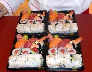 Bandejas de Sushi variado para llevar de Pescaderías Ernesto Prieto