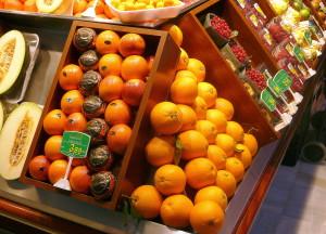 Naranjas y sanguinas en Frutas Charito