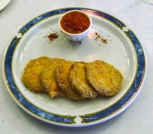 Berenjenas con mozzarella acompa ado de cuatro rayas 2012 - Berenjenas con mozzarella ...