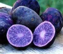 Patatas morada en Frutas Charito