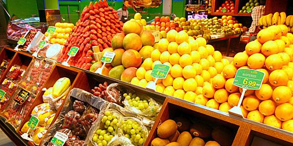 Todas las frutas de temporada en Frutas Charito