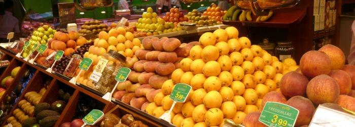 Frutas de verano en Frutas Charito