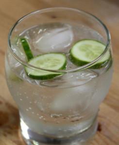 Gin Tonic con pepino