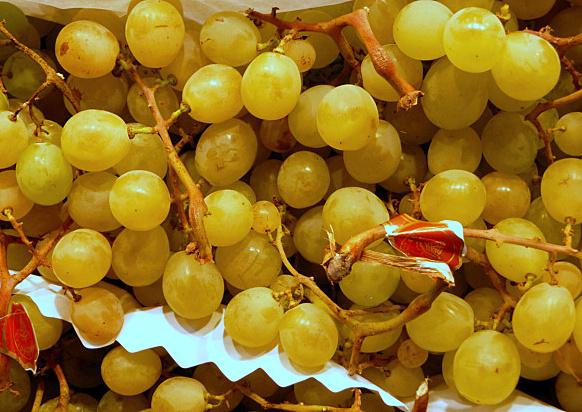 Uvas sin pepitas de Frutas Charito