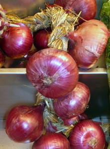 Cebollas rojas de Potes