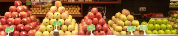 Todas las variedades de manzanas en Frutas Charito