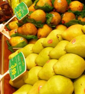 Peras de Frutas Charito