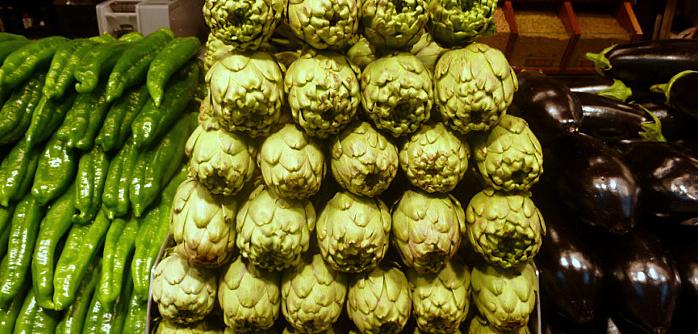 Alcachofas de Frutas Charito
