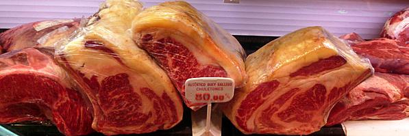 Carne de auténtico buey gallego