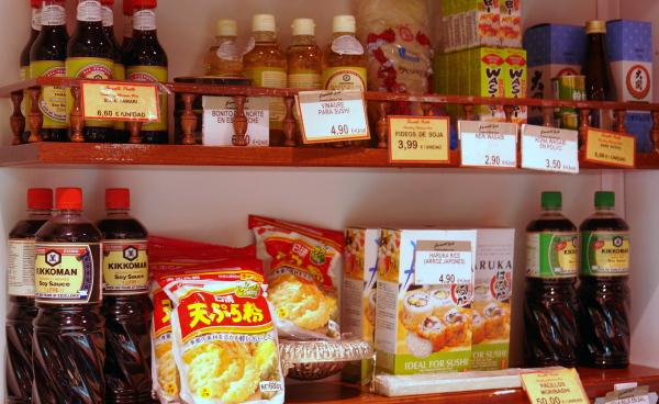 Productos japoneses para cocinar en casa