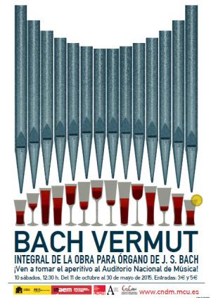 Conciertos de Bach y gastronomía en BACH VERMUT