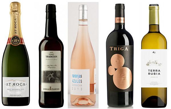 Selección de vinos García de la Navarra Navidades 2014