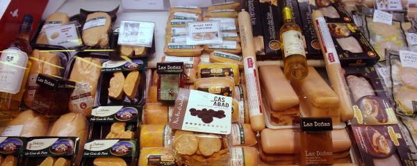 La myor variedad de foie gras en Pollería Hermanos Gómez