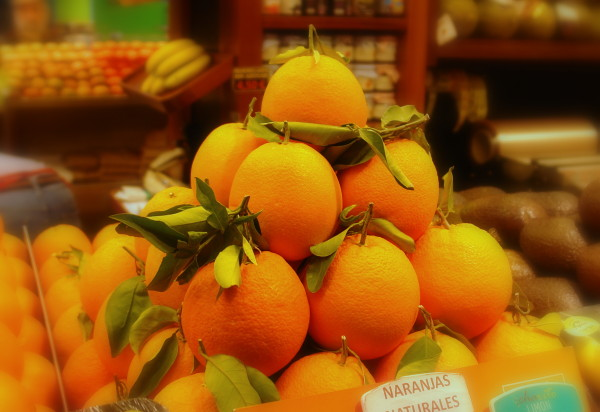 Naranjas naturales