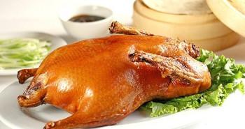 Pato asado estilo pekines