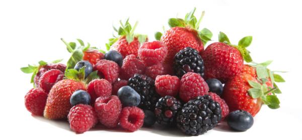 El poder rejuvenecedor de los frutos rojos