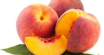 Nectarinas emblema de las frutas con hueso