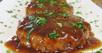 Receta de Salisbury Steak