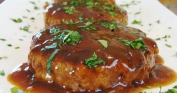 Receta de Salisbury Steak