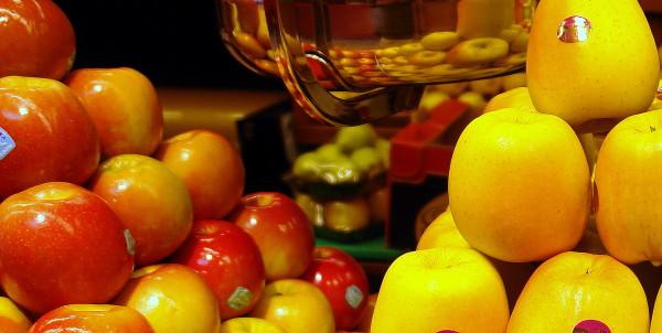Manzanas en Frutas Charito