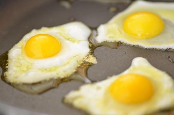 Un habitual: huevos fritos