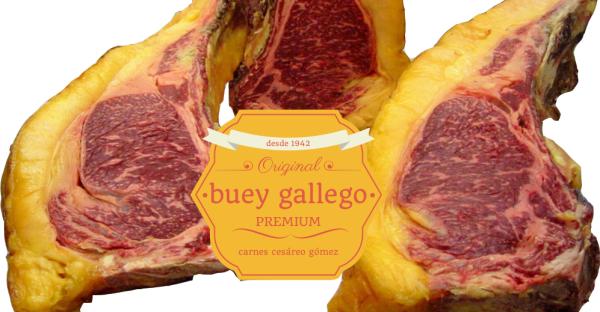 Chuletón de buey gallego