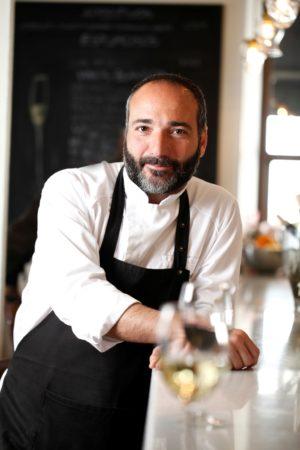 Angelo marino, chef del restaurante Mercato Ballaró