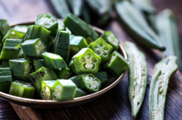 Okras, hortaliza saludable