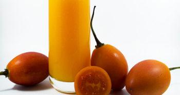 Zumo de tamarillo y naranja