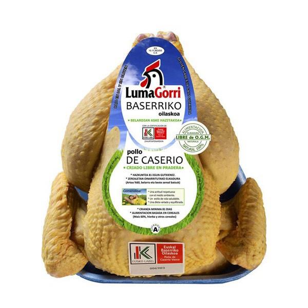 Pollo de caserío
