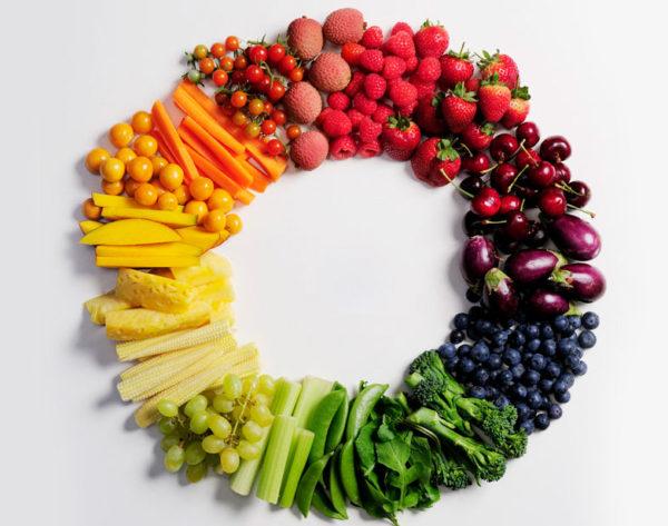 Las frutas y verduras aportan antioxidantes