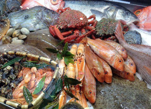 Pescado y marisco en la dieta