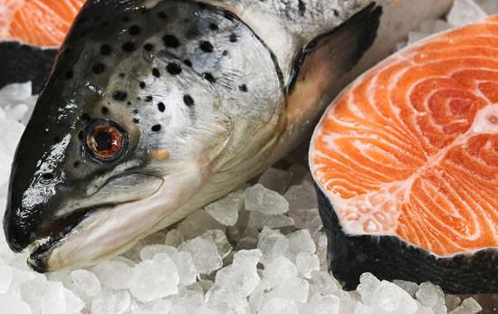 Salmón, pescado en alza