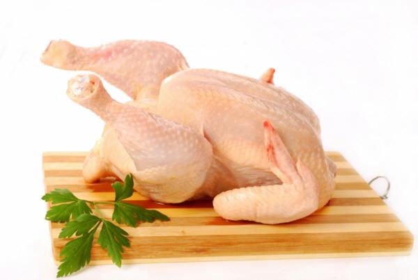 Una pieza de pollo para cada receta