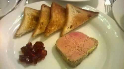 Tarrina de Foie gras de chef casero