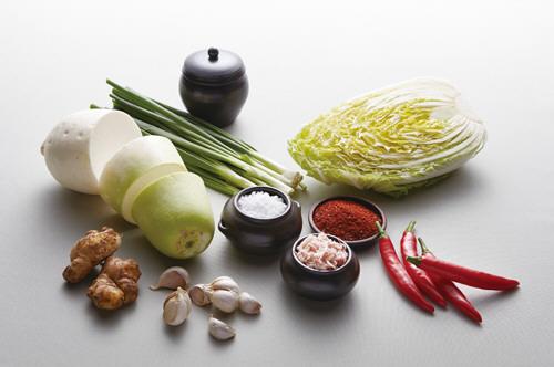 Productos del kimchi