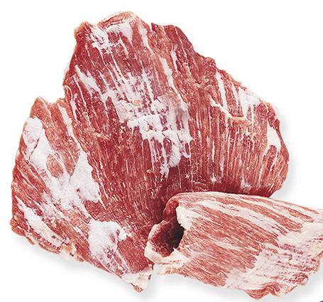 Corte noble del cerdo ibérico