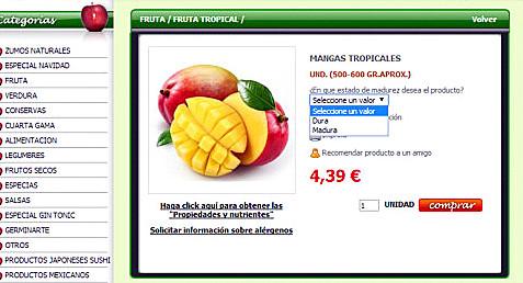 Frutas Charito Online
