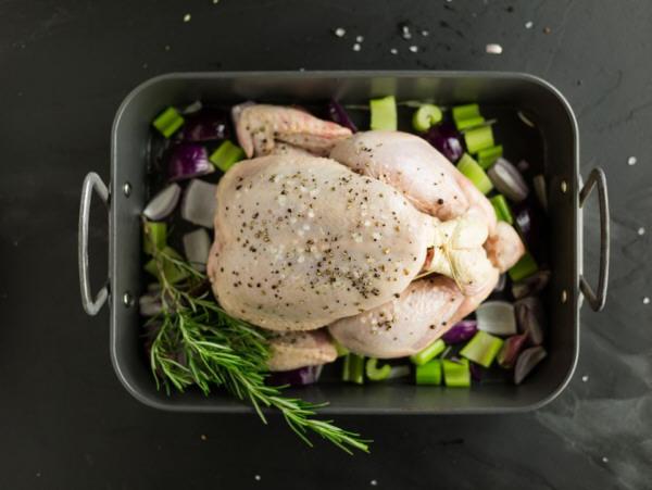 Cocina de pollo