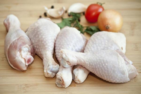 Respeto a la carne de pollo