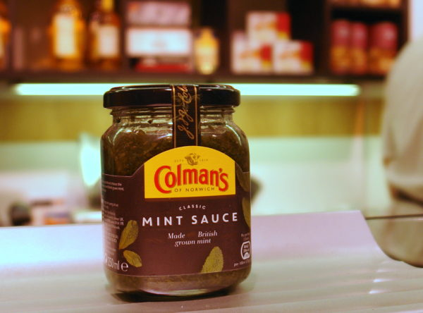 Salsa de menta Colman's